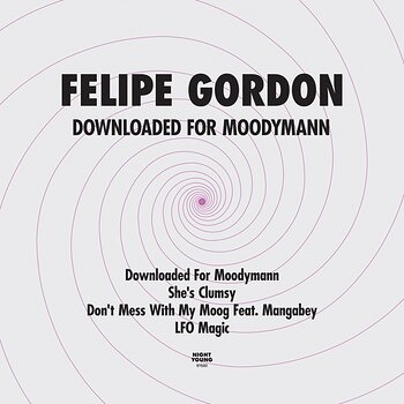 Cover art - Felipe Gordon: Downloaded for Moodymann