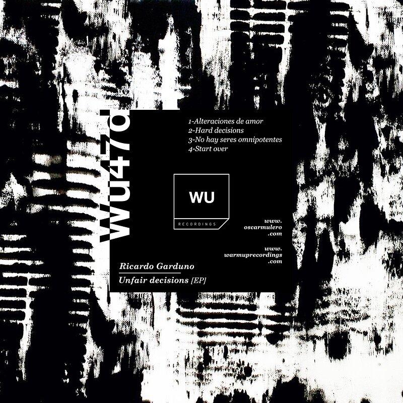 Cover art - Ricardo Garduno: Unfair Decisions EP