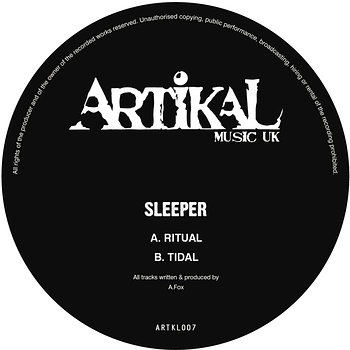 Cover art - Sleeper: Ritual / Tidal