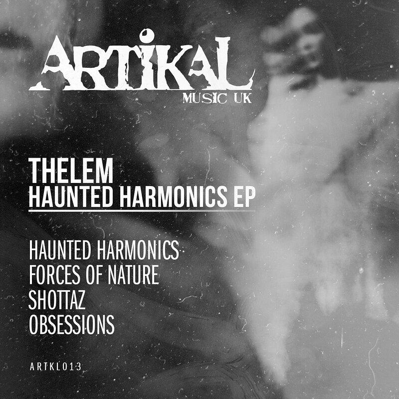 Cover art - Thelem: Haunted Harmonics - EP