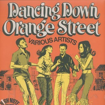 Cover art - Various Artists: Dancing Down Orange Street