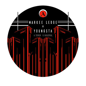 Cover art - Markee Ledge & Youngsta: Terror / Industrial