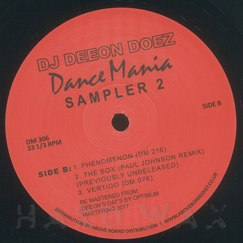Cover art - DJ Deeon: Doez Dance Mania Sampler 2