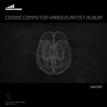 Cover art - Various Artists: Cosmic Computer