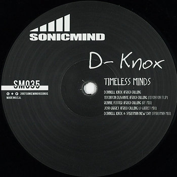 Cover art - D-Knox: Timeless Minds