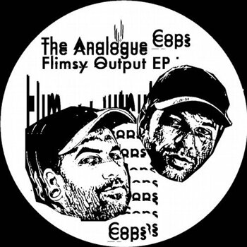 Cover art - The Analogue Cops: Flimsy Output EP