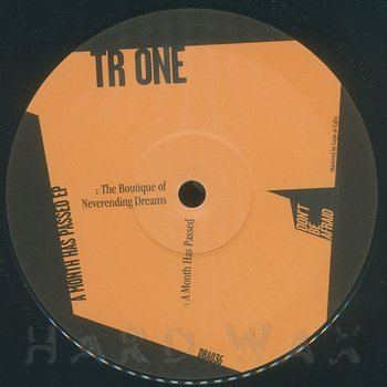 Cover art - Tr One: A Month Has Passed