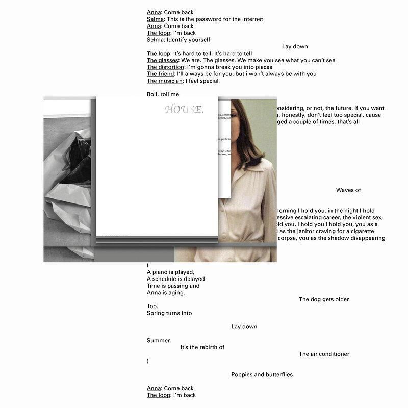 Cover art - Félicia Atkinson: A Readymade Ceremony
