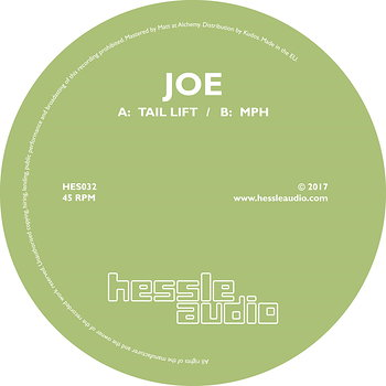 Cover art - Joe: Tail Lift