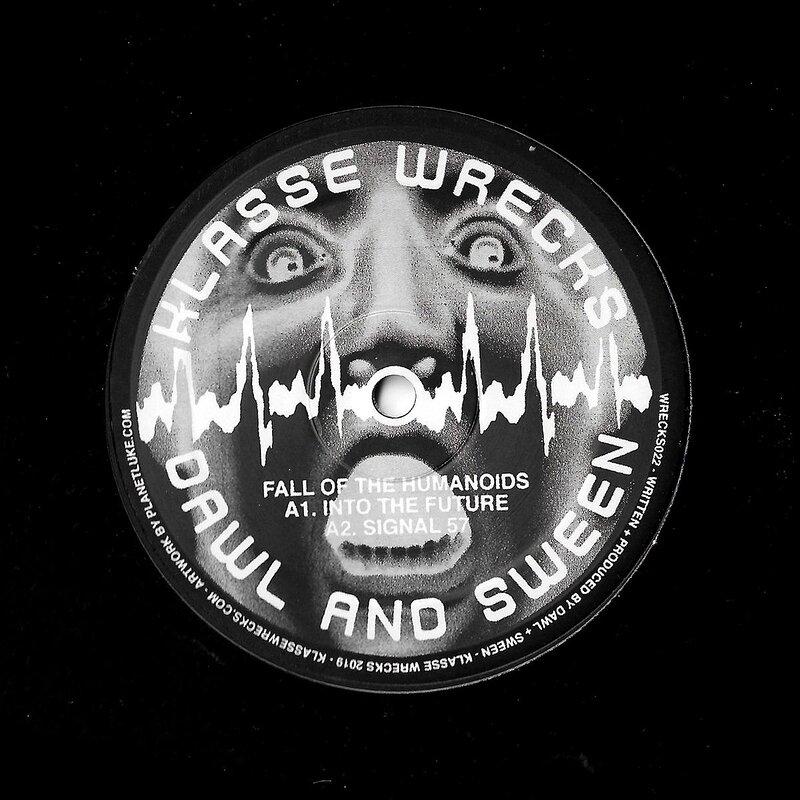 Cover art - Dawl & Sween: Fall of the Humanoids EP