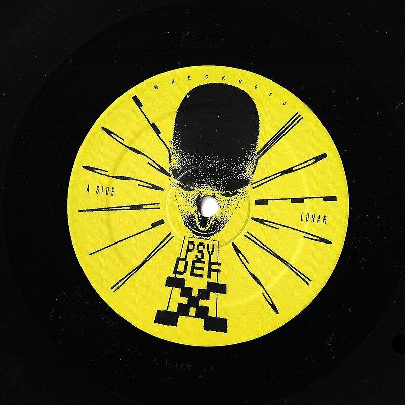 Cover art - Psy Def X: Psy Def X EP