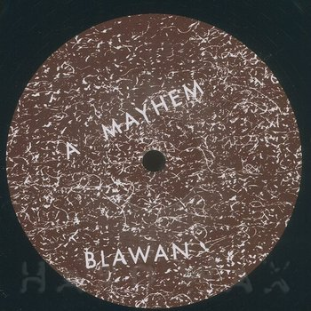 Cover art - Blawan: Nutrition