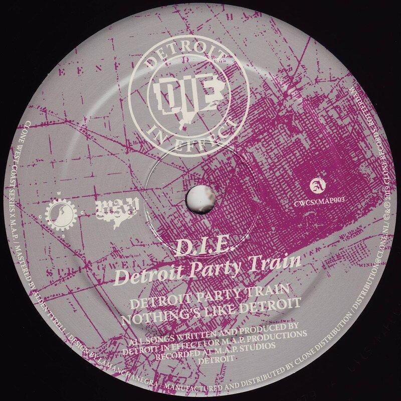 Cover art - D.I.E.: Detroit Party Train