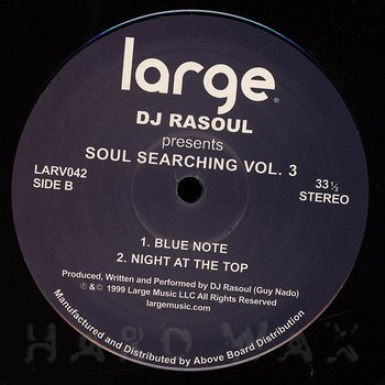 Cover art - DJ Rasoul: Soul Searching Vol. 3