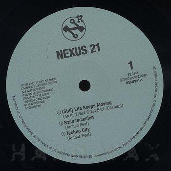 Cover art - Nexus 21: The Rhythm Of Life