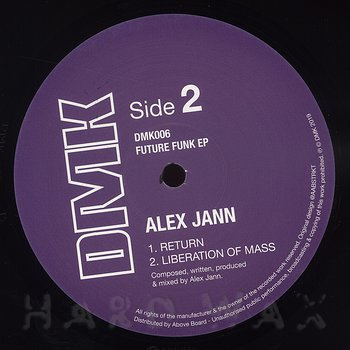 Cover art - Alex Jann: Future Funk EP