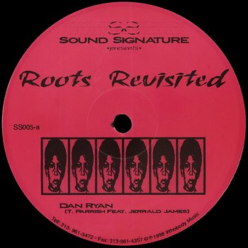 Cover art - Theo Parrish: Roots Revisited