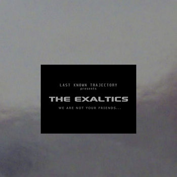 Cover art - The Exaltics: We Are Not Your Friends