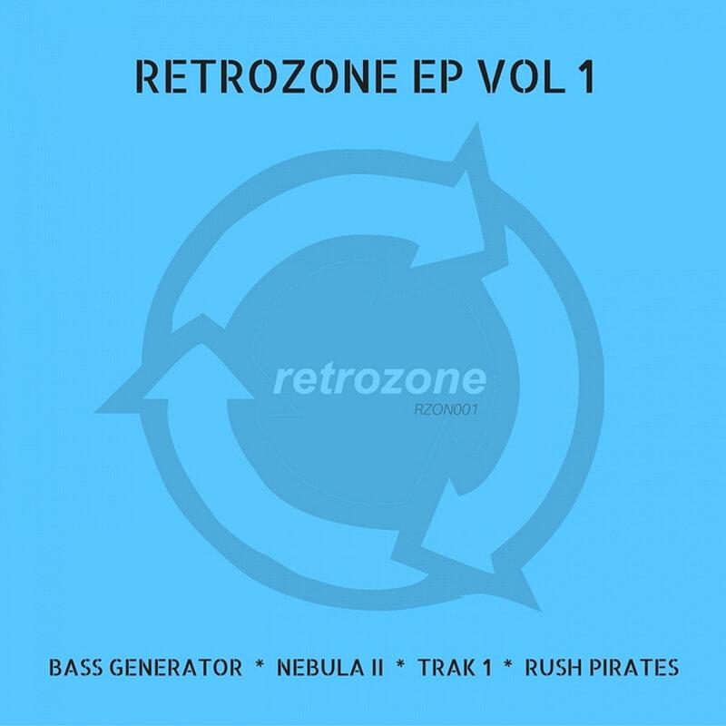 Cover art - Various Artists: Retrozone EP Vol 1