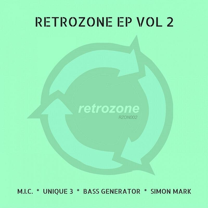 Cover art - Various Artists: Retrozone EP Vol 2