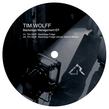 Cover art - Tim Wolff: Backstage Management EP