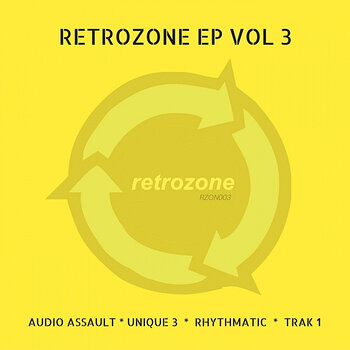 Cover art - Various Artists: Retrozone EP Vol 3