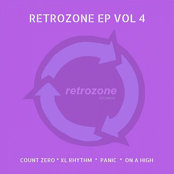 Cover art - Various Artists: Retrozone EP Vol 4
