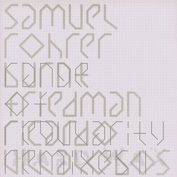 Cover art - Samuel Rohrer: Range Of Regularity Remixes II