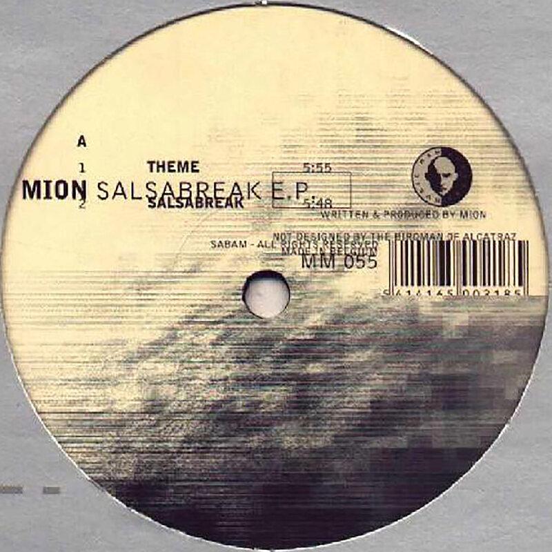 Cover art - Mion: Salsabreak EP