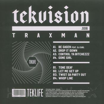 Cover art - Traxman: Tekvision