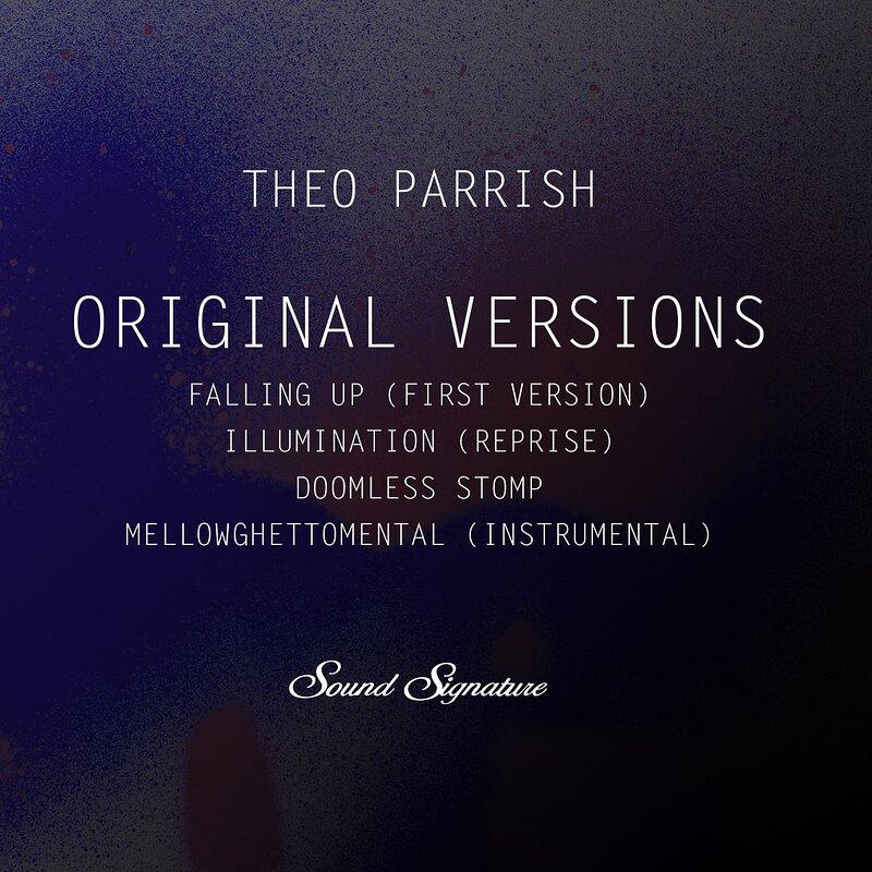 Cover art - Theo Parrish: Original Versions