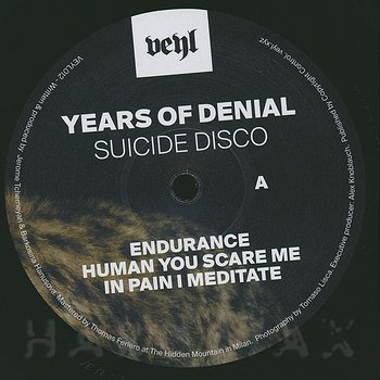 Cover art - Years Of Denial: Suicide Disco