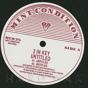 Cover art - 3 In Key: Untitled