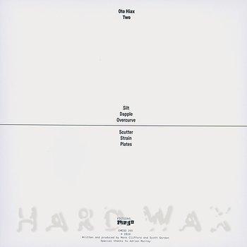 Cover art - Oto Hiax: Two