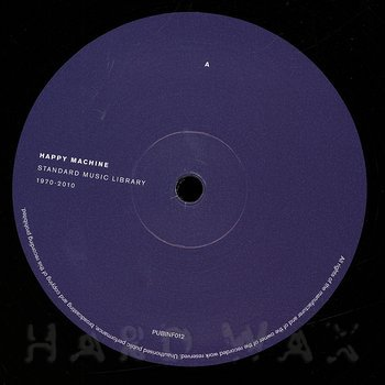 Cover art - Various Artists: Happy Machine: Standard Music Library 1970-2010