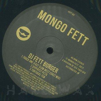 Cover art - DJ Fett Burger: Track One