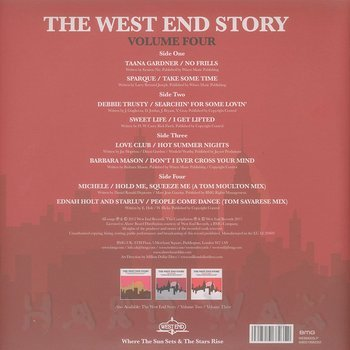 Cover art - Various Artists: The West End Story Vol. 4