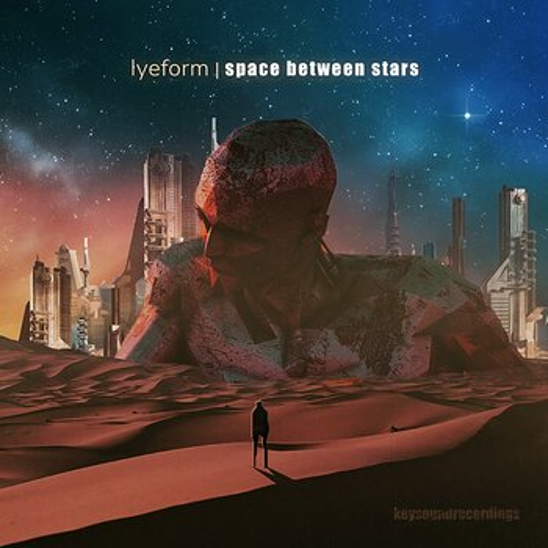 Cover art - Lyeform: Space Between Stars