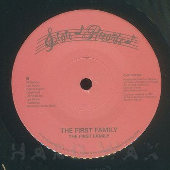 Cover art - The First Family: Slow Motion