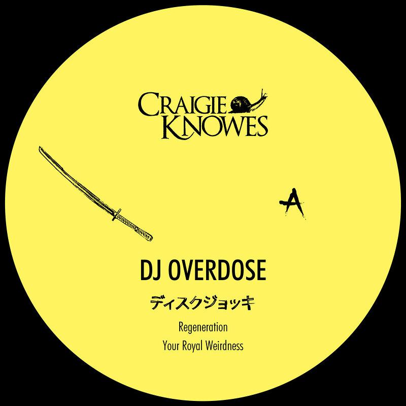Cover art - DJ Overdose: Mindstorms EP