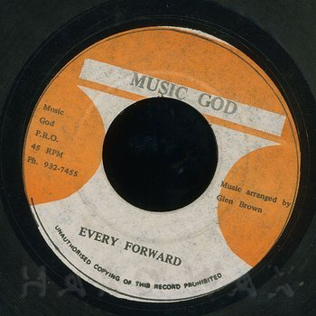 Cover art - Glen Brown: Every Foward