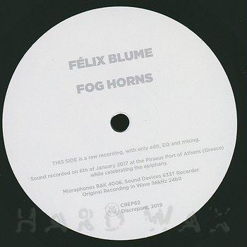 Cover art - Félix Blume: Fog Horns