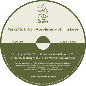 Cover art - Paskal & Urban Absolutes: Still In Love