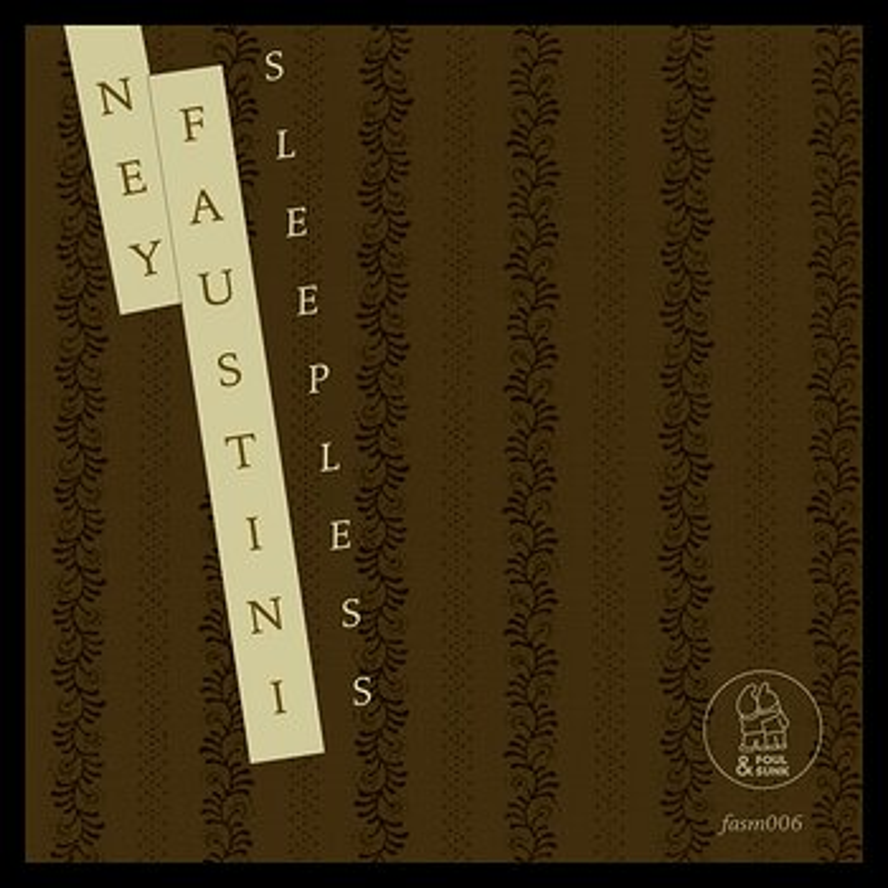 Cover art - Ney Faustini: Sleepless EP