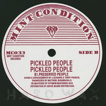 Cover art - Pickled People: Pickled People