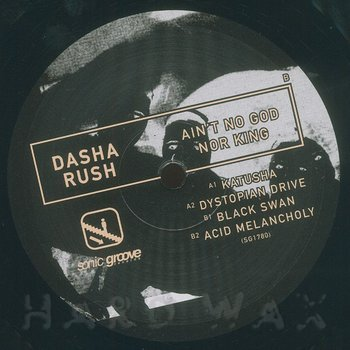 Cover art - Dasha Rush: Ain't No God Nor King