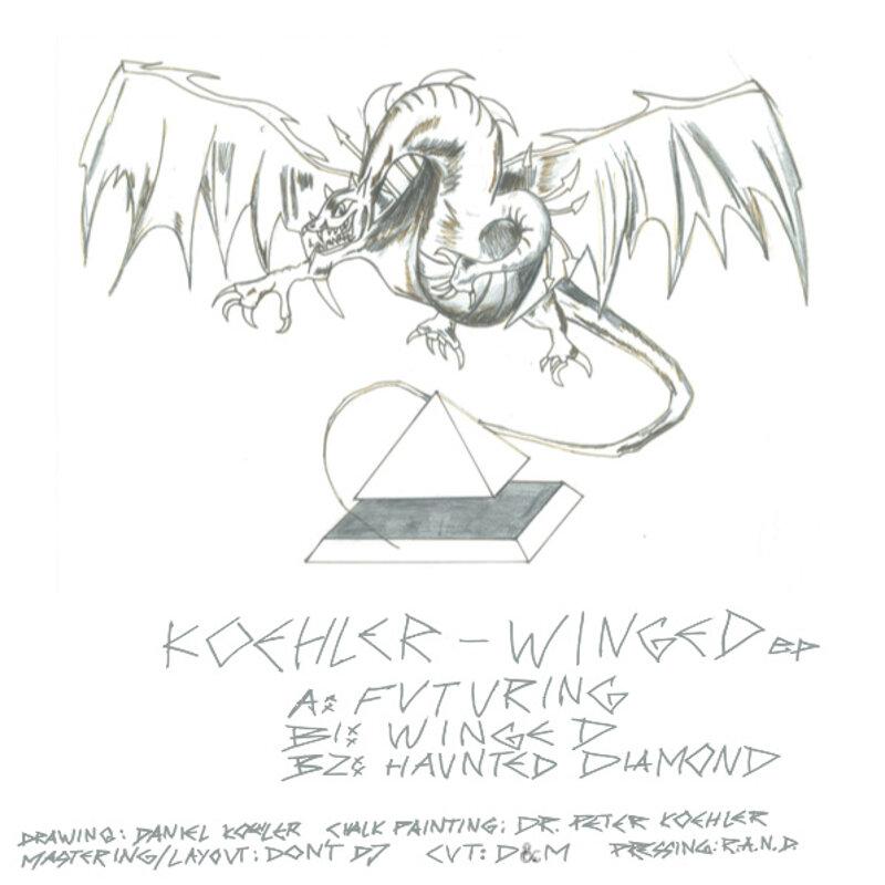 Cover art - Koehler: Winged