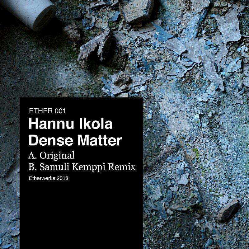 Cover art - Hannu Ikola: Dense Matter