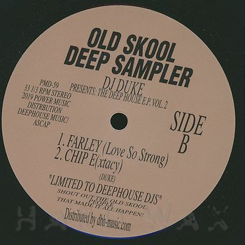Cover art - DJ Duke: Old Skool Deep Sampler Vol. 2