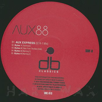 Cover art - Aux 88: Direct Drive EP